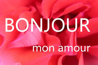 Bonjour amour - images-at phrases