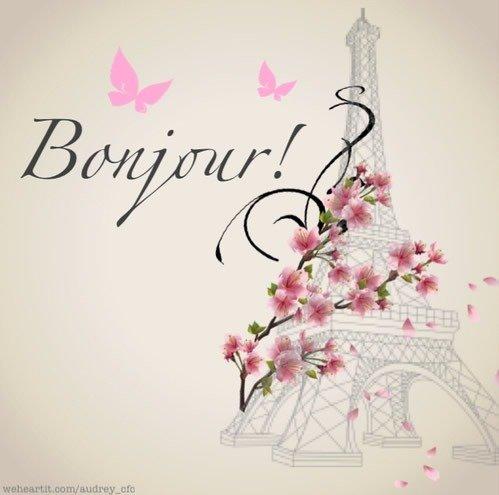bonjour cards Paris