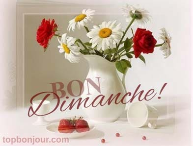 Bon dimanche à toi! | topbonjour.com