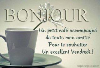 Bon vendredi cafè