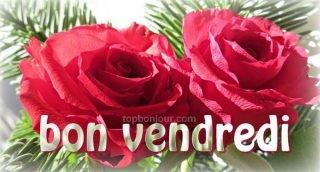 Bon vendredi roses