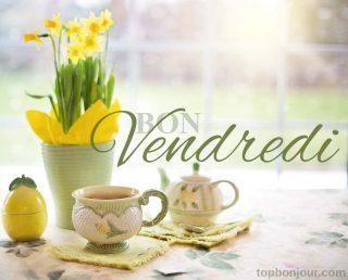 fleurs jaunes vendredi