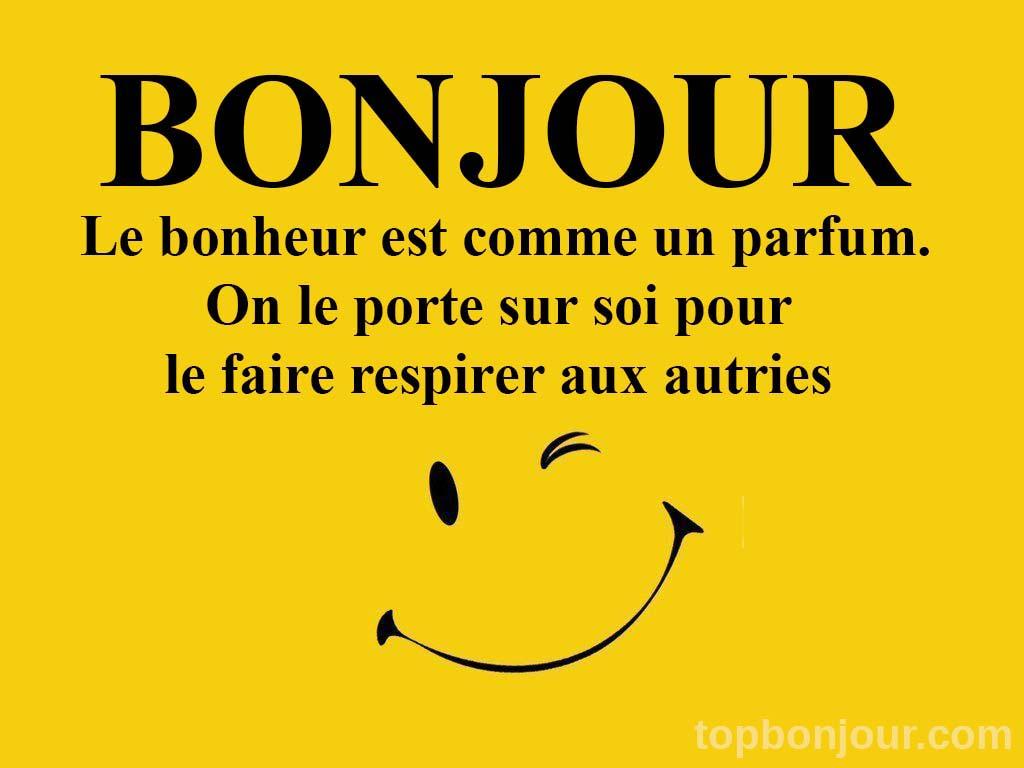 Bonjour Images Et Phrases Topbonjour Com